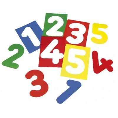 EDUPLAY Zahlenschablonen | 140-120135 / EAN:4260081548433