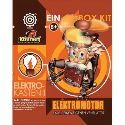 Elektro-Kasten II: Elektromotor; Experimentierkasten   560-95007 / EAN:4002129950071