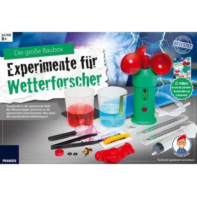 Franzis Der kleine Hacker: Experimente für Wetterforscher | 170-653635 / EAN:4019631653635
