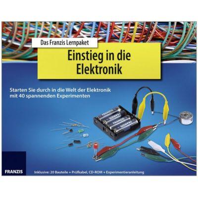 Franzis Lernpaket Einstieg in die Elektronik   170-651967 / EAN:9783645651967