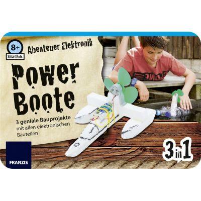 Franzis SmartKids Abenteuer Elektronik Powerboote | 170-652124 / EAN:9783645652124