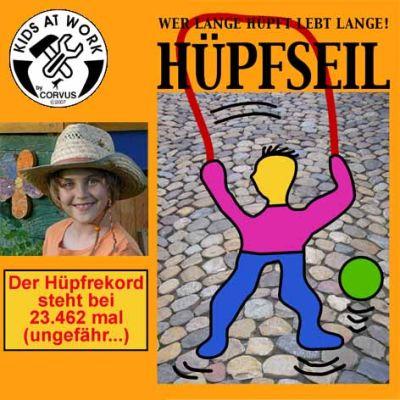 Hüpfseil, 2,5m | 050-A750133 / EAN:4047542751331