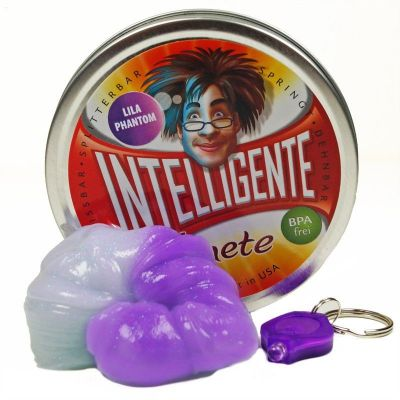 Intelligente Knete - Lila Phantom inklusive UV-Lampe | 460-22010 / EAN:8594164761003