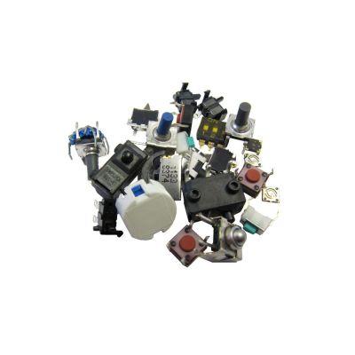 Kemo Mikroschalter und -taster, ca. 30 Stück | 420-S104 / EAN:4024028041209