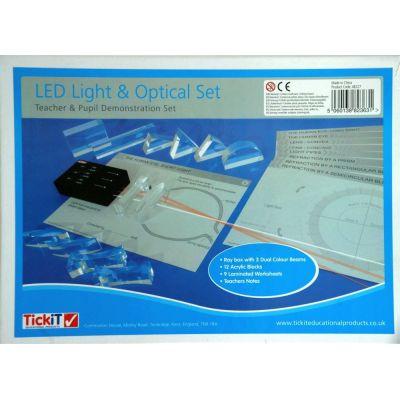LED-Strahler und Acryllinsen-Set (engl. Anleitung) | 045-48227 / EAN:5060138823631