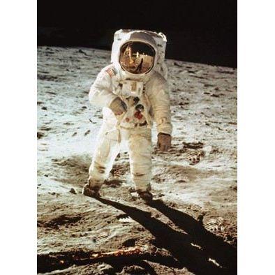 Postkarte mit Wackelbild Walking on the moon   645-LP096 / EAN:4043586720968