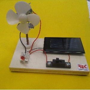 REC electronic Wind- und Solarenergie-Demo-Bausatz | 691-2015WS / EAN:4260489745205