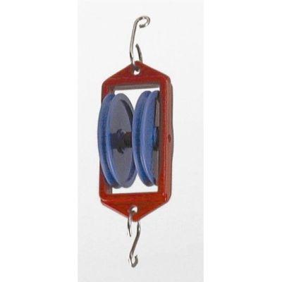 Seilrolle doppelt 50mm | 045-64626 / EAN:4260489741870