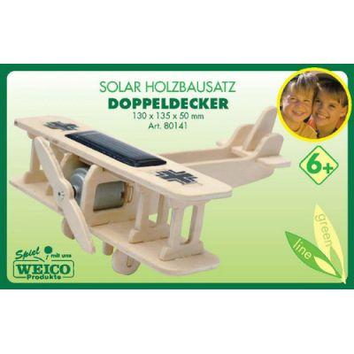 Weico Holzbausatz Solar Doppeldecker | 280-25103025 / EAN:4011236801411