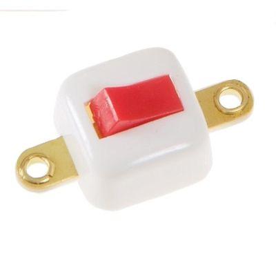 Wippschalter viereckig, weiß | 330-676224 / EAN:4260489742341