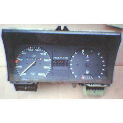 Armaturen Einsatz VW Golf 2 / Jetta 2 Display weiß 200 km/h / Tacho / Tank Anzeige / Temperatur Anzeige + WL -   MAV - [ 4704 ]