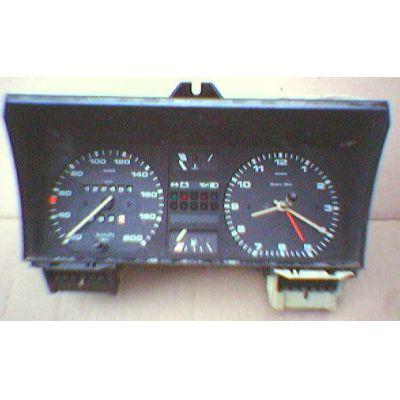 Armaturen Einsatz VW Golf 2 / Jetta 2 Display weiß 200 km/h / Tacho / Tank Anzeige / Temperatur Anzeige + WL / | MAV - [ 4703 ]