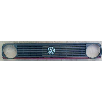 Grill VW Golf 2 19 .1 7 Rippen - 9.83 - 8.87 - Kühlergrill / Luftleitgitter Kühler - gebraucht | MAV - 27903 a [ rot - 1 ]