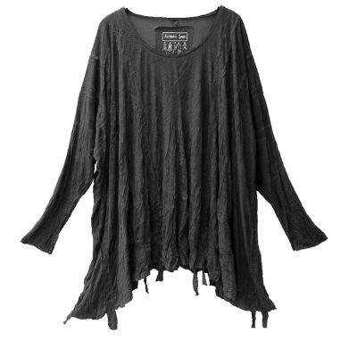 Barbara Speer Shirt anthra gecrasht | 229026-anthra