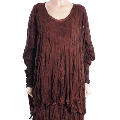 Barbara Speer Shirt terracotta überweit - reduziert | 229026-terracotta