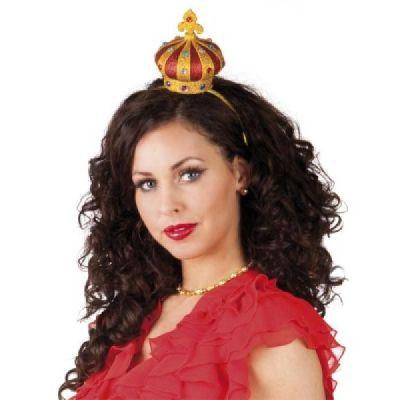 Haarreif mit Krone - Krönchen für die Haare | HM47363(36) / EAN:8712026763044