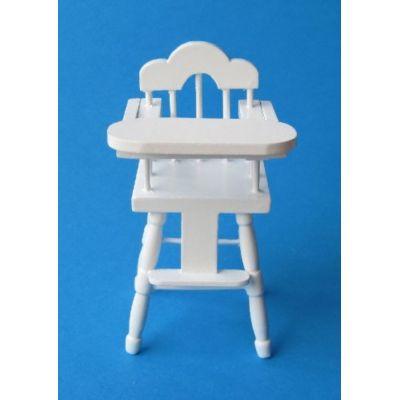Baby Hochstuhl Puppenhausmöbel 1:12 Miniatur | c27640-49 / EAN:3597832734301