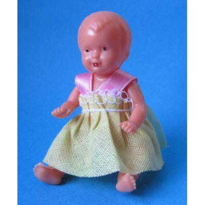Baby Puppe 6 cm für die Puppenstube | SW11106 / EAN:4001352111068