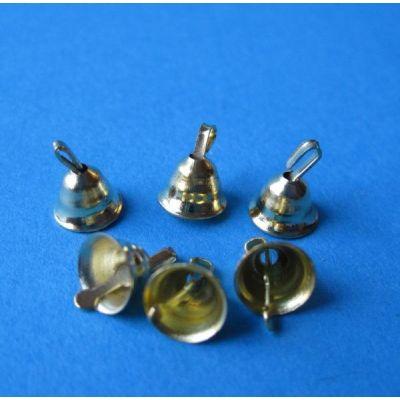 Baumschmuck 6 Glöckchen Weihnachten Puppenhaus Miniatur 1:12 | c74751 / EAN:3597837475103