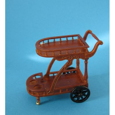 Edler Teewagen Louis Philippe Holz Puppenhaus Miniatur 1:12   c392670 / EAN:3597833926708