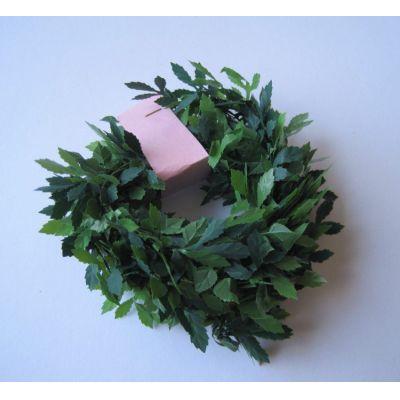 Girlande Buchsbaum grün 100 cm Garten Dekoration Miniatur 1:12   c6241 / EAN:3597836241006