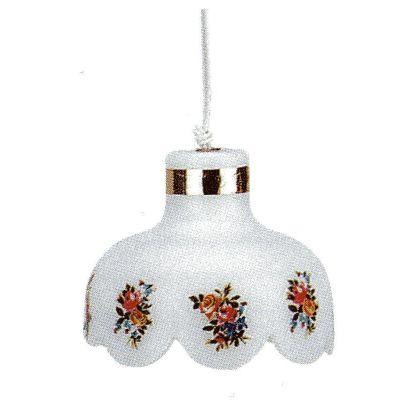 Hängelampe Blume für Puppenhaus Wohnzimmer Kinderzimmer Diele | K10541 / EAN:4026179105410