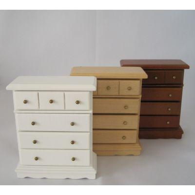 Kommode Puppenhausmöbel für die Puppenstube Miniatur 1:12 | c27671-79 / EAN:3597832767104