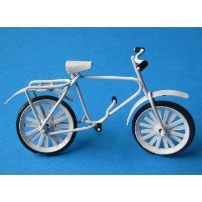 mini fahrrad metall weiss oder rot f r das puppenhaus miniatur 1 12 garten blumen miniaturen. Black Bedroom Furniture Sets. Home Design Ideas