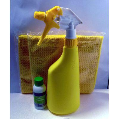 Lackpflege ohne Wasser: Autopflege - Waschset V2 | WS002