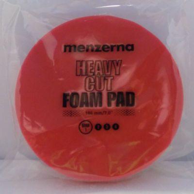 Menzerna Polierschaum Heavy Cut Foam Pad rot Ø 180 mm | 26900.223.010
