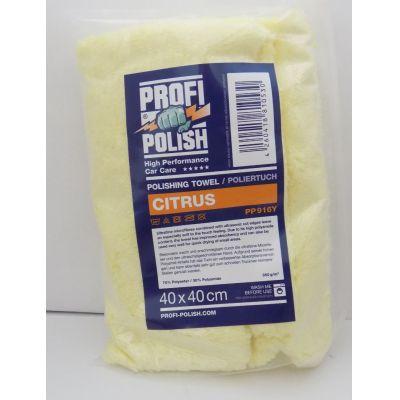 ProfiPolish Citrus Towel Poliertuch 40 cm x 40 cm | PP916Y