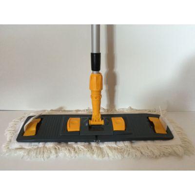 CleanSV Lamo Laschenmopset 50 cm, 1 Laschenmop Baumwollmop 50 cm Laschen + Taschen, 1 Lamo Mphalter, 1 Telesko   00-000048 / EAN:0736846047427