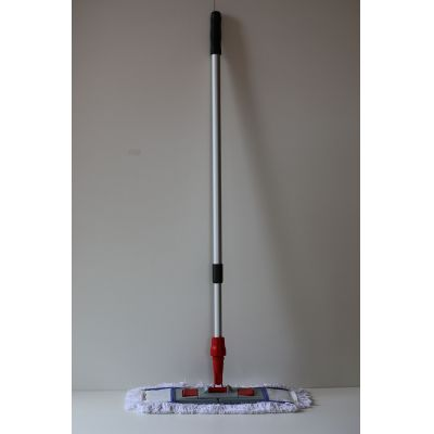Moppset 50 cm 3 teilig - Baumwollmop 50 cm, Mophalter und Profi Telekopstiehl | 00-000001 / EAN:0736846045034