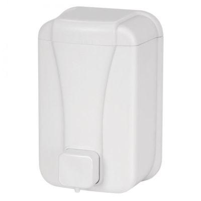 Seifenspender Wall 500 ml weiss, aus Kunststoff für flüssig Seife | 114-3420-2WEISS / EAN:0736846046307