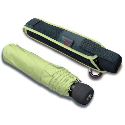 Euroschirm Regenschirm Light Trek automatic hellgrüner Regenschirm zum wandern | H1074