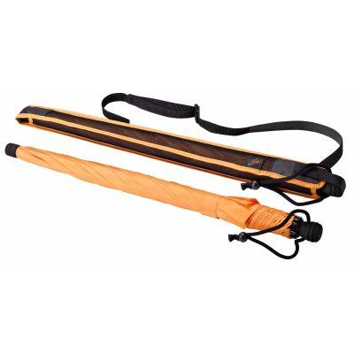EUROSCHIRM Swing liteflex orange Regenschirm für Damen und Herren Trekking   H1072 / EAN:4022973004263