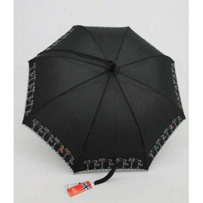 Nex moderner Regenschirm Stockschirm Motivschirm Umhängeschirm Damen 012 Katzen | 1811 / EAN:5060145742352