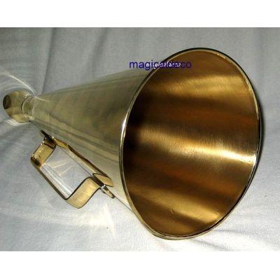 **Großes Megaphon aus Messing- 34 cm   1193797191