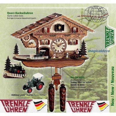 Trenkle- Kuckucksuhr- mit Traktor Lanz- Oldtimer- Cuckoo Clocks- Schwarzwald | 921364961