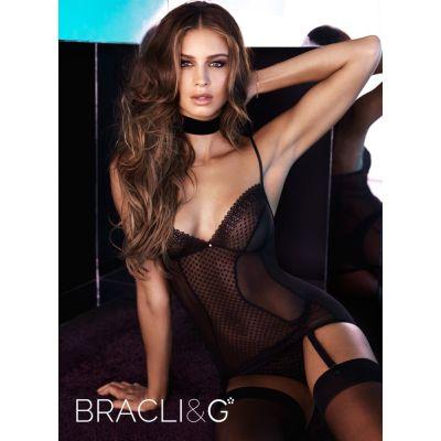 Bracli G-Corselet mit gepunkteter Spitze, Bracli&G | bra2084