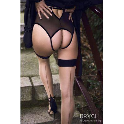Bracli KYOTO Panty / High Waist Brief / Perlenstring | 2020914195