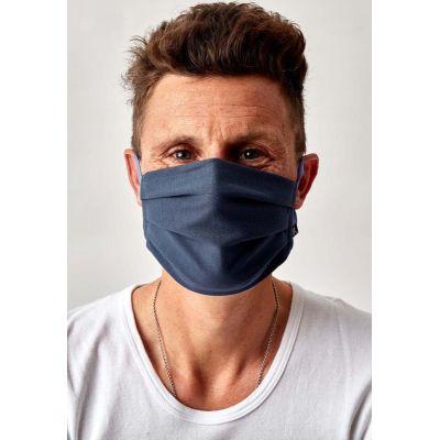 Huber Mund-Nasen Maske blau   010005 / EAN:9006948061951