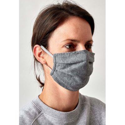 Huber Mund-Nasen Maske grau   01004-HuMNS / EAN:9006948061944