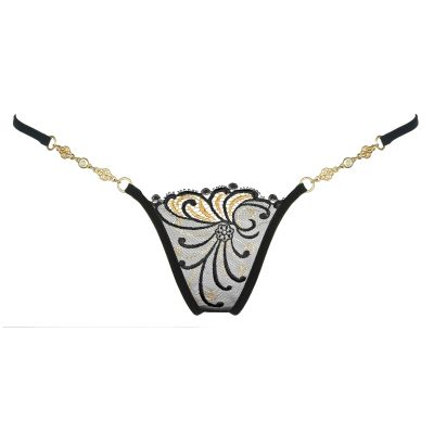 Lucky Cheeks Luxus String Golden Diamond | LC141