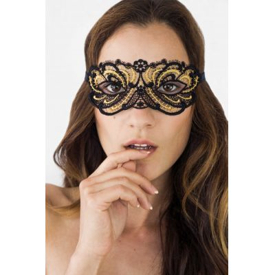 Lucky Cheeks Maske - Queen of Love - Black Edition | LC155QLB / EAN:0739615962310