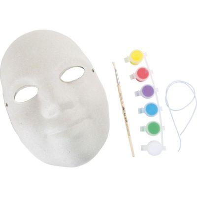 Bastelset - Bemale deine Maske - Set | LG1397 / EAN:4020972013972