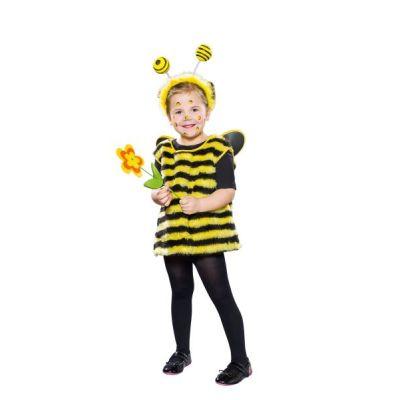 Bienchen - Kinderkostüm - Kostüm Kleine Biene - mit Kopfbügel | 42681467 / EAN:4007487113038