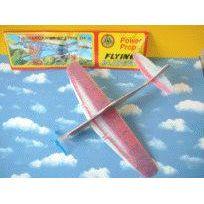 Flieger - Flugzeug aus Styropor - verschiedene Modelle   6M002(14) / EAN:5413247049223