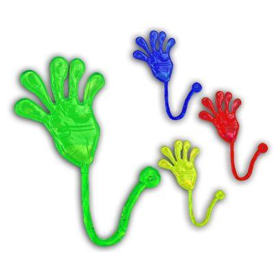 Klatschhand - Klebehand - ca. 8 cm in vier Farben | HM40981 / EAN:5413247092311