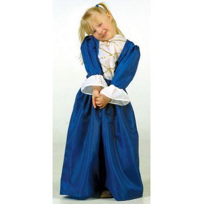 Prinzessin - Kinderkostüm - blaues Kleid - Einheitsgröße | LG9522 / EAN:4260028384148